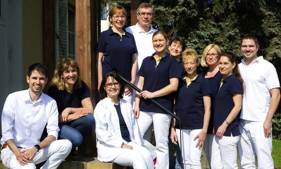 Team der Berliner Zahnarztpraxis Klein